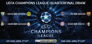 Champions League quarterfinals